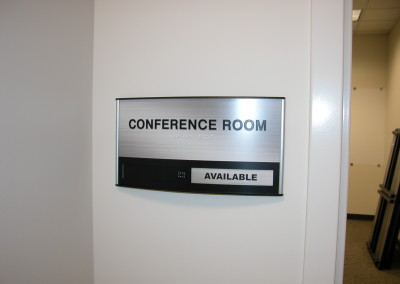 Indoor Conference Room sign