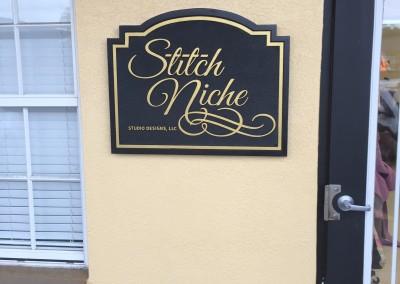 Stitch Niche Outdoor Sign