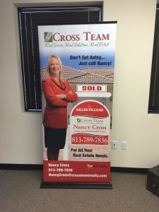 Custom Sign Retractable Banner Real Estate