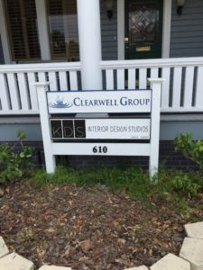 Sandblasted and Routed signs