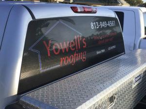 Vehicle Windows Graphics