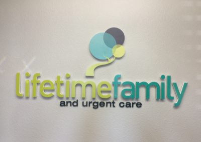 Lobby Sign Llifetime Family