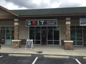 Lighted signs and A-Frame sign for GRIT