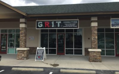 Outdoor custom signs in Tampa, FL for GRIT and Tampa Gunfights
