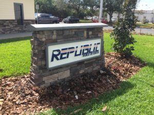 Republic Voice and Data Outdoor Sign, Tampa, FL