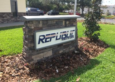 Routed/Sandblasted HDU Sign