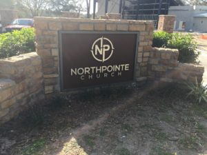Outdoor Sign for North Pointe Church