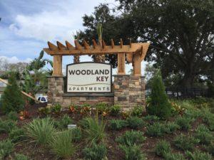 Community monument sign