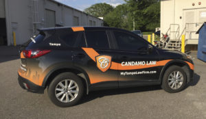 Candamo Law Wraps Vehicle Graphics and Wrap