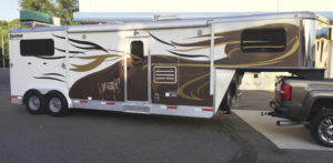Horse Trailer Graphics and Wrap