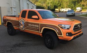 Mosquito Hunters Vehicle Graphics and Wraps