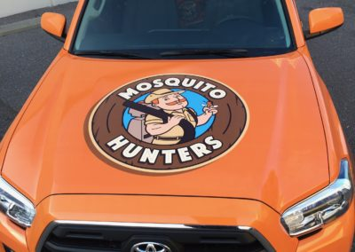 Mosquito Hunters Wrap