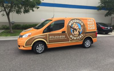 Vehicle Graphics for Mosquito Hunters in Tampa, FL