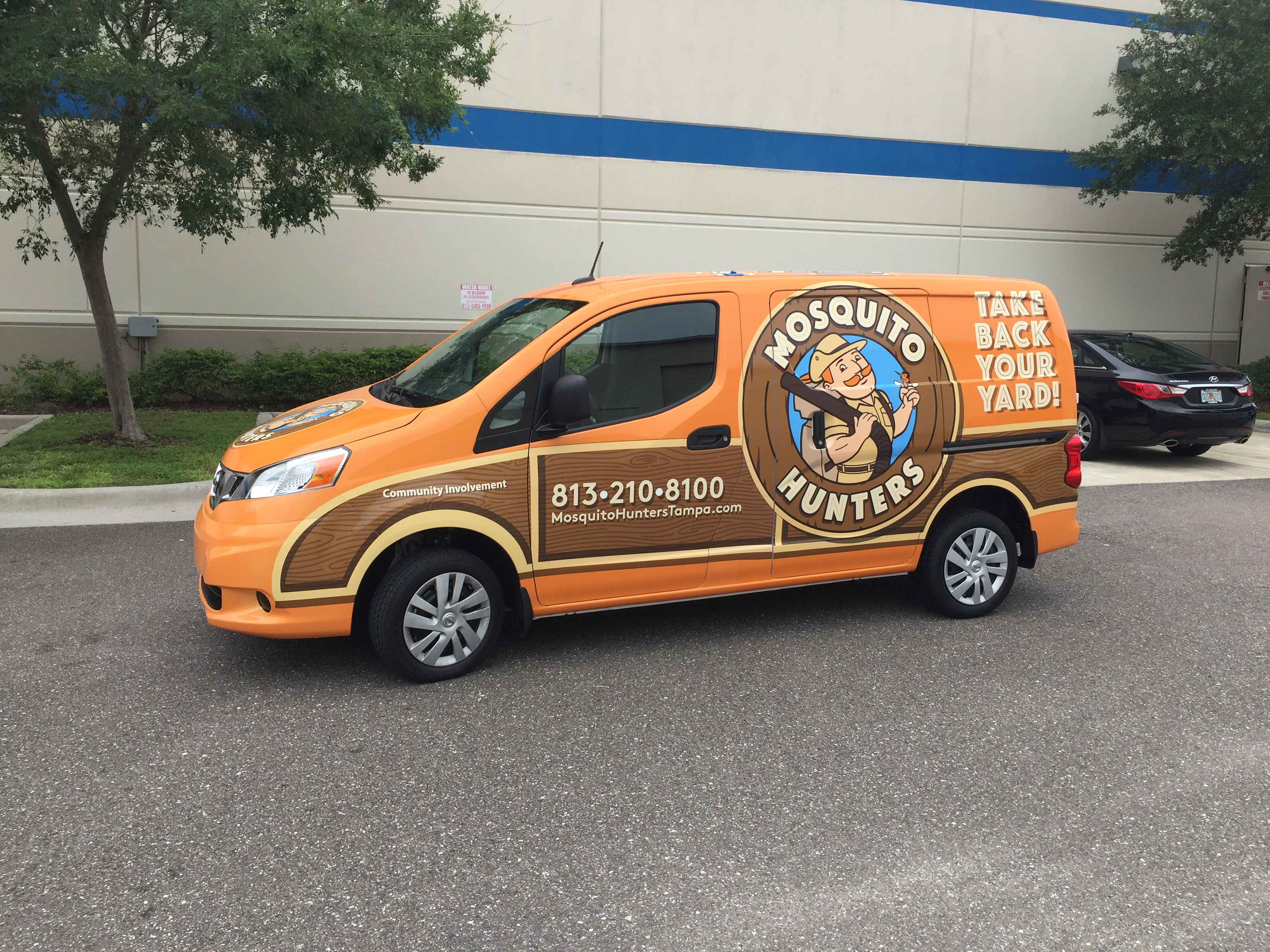 Vehicle Graphics For Mosquito Hunters In Tampa Fl