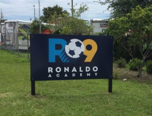 Exterior/Outdoor sign for R9 Acedemy