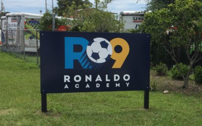 Custom Signs for Ronaldo R9 Academy in Tampa, FL