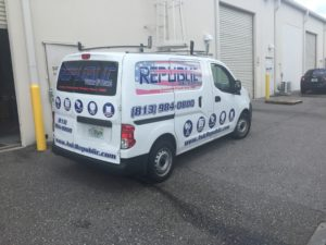 Vehicle Graphics for Republic Voice and Data