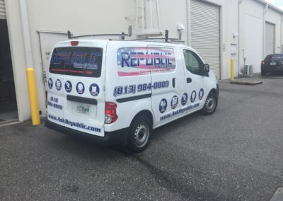 Vehicle Graphics, Republic Voice and Data