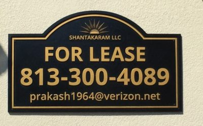 Exterior Routed and Sandblasted Signs for Office Parks in Tampa, FL