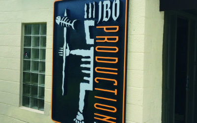 Custom Routed Sign for JBO Production in Tampa Bay, FL