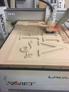 CNC Routed Carving