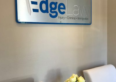 Edge Law Office Sign