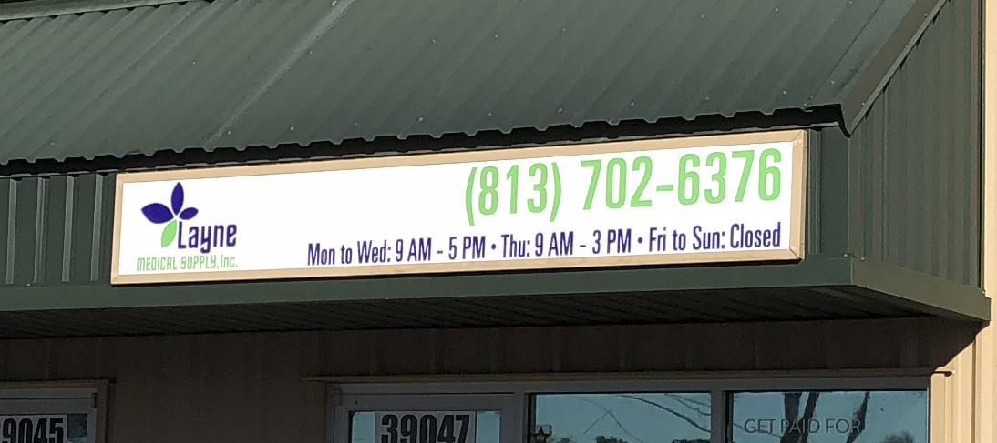 Interior And Exterior Office Signs Tampa Bay Florida