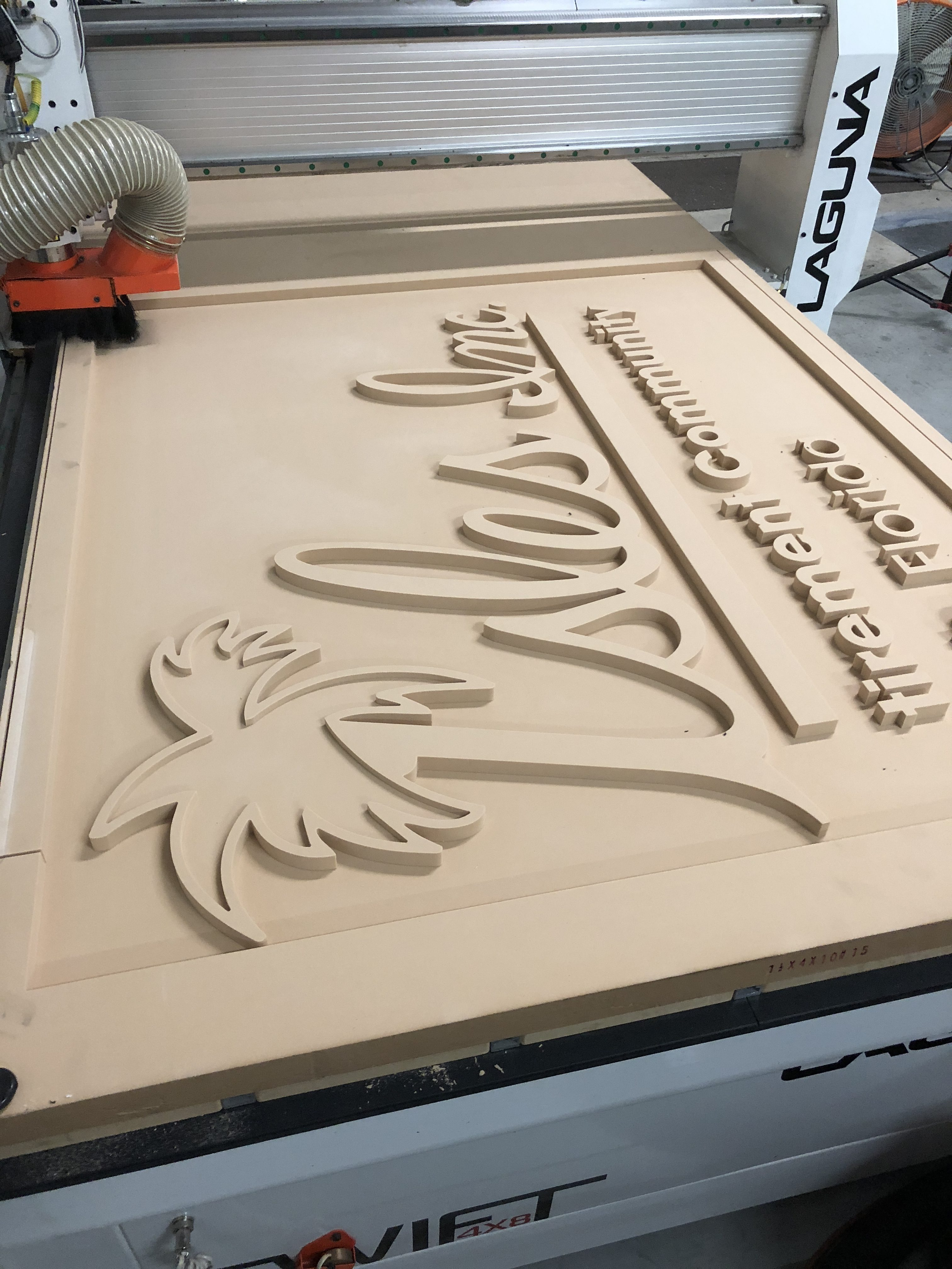 Routed and Sandblasted Custom Signs