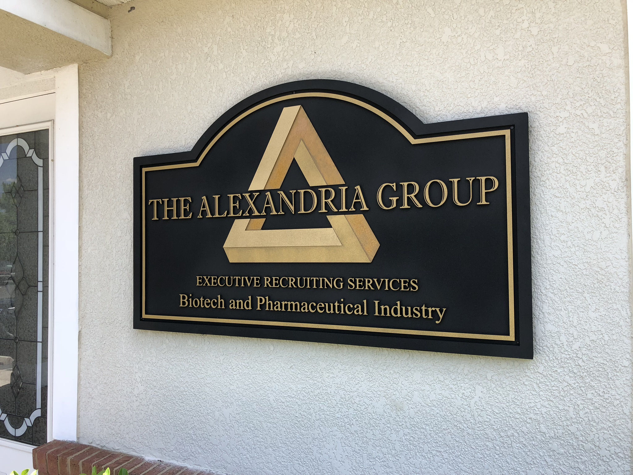 Exterior and outdoor office signs for Exterior office signs